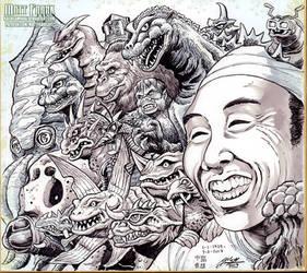 Haruo Nakajima Tribute by KaijuSamurai