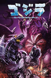 Godzilla: Rulers of Earth Vol 3 JP edition web ver by KaijuSamurai