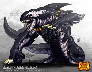 Colossal Kaiju Combat - Orzul by KaijuSamurai