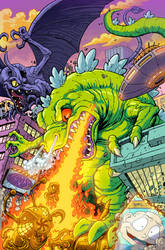 Rugrats Reptar Cover for Kaboom