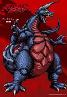 REDMAN Kaiju - Arstron by KaijuSamurai