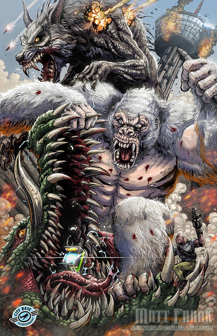 Rampage Smashing San Antonio By Kaijusamurai On Deviantart