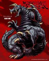 REDMAN Kaiju - Black King by KaijuSamurai