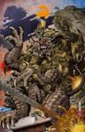 Godzilla Rulers of Earth Vol 5 Okinawa Cover clean