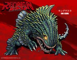 REDMAN Kaiju - King Gesura by KaijuSamurai