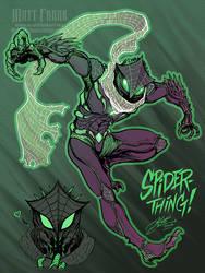 Spidersona  - Spider-Thing by KaijuSamurai