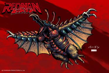 REDMAN Kaiju - Birdon by KaijuSamurai