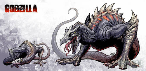 Godzilla Neo - SKULLCRAWLERS