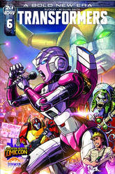 TRANSFORMERS #6 Greater Austin Comic Con Cover by KaijuSamurai