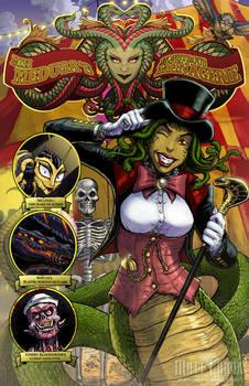 Miss Medusa's Monstrous Menagerie