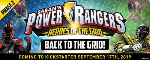 POWER RANGERS Back to the Grid!