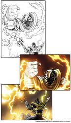 Power Rangers Heroes of the Grid - Gold Ranger!