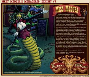 MISS MEDUSA Profile!