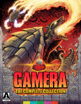 GAMERA The Complete Collection - Cover