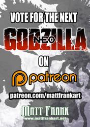 VOTE on the next GODZILLA NEO