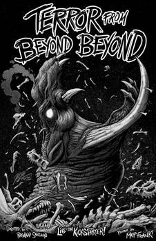 TERROR FROM BEYOND BEYOND - Kickstarter Poster