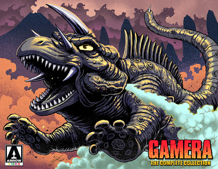 Gamera Complete Collection - JIGER