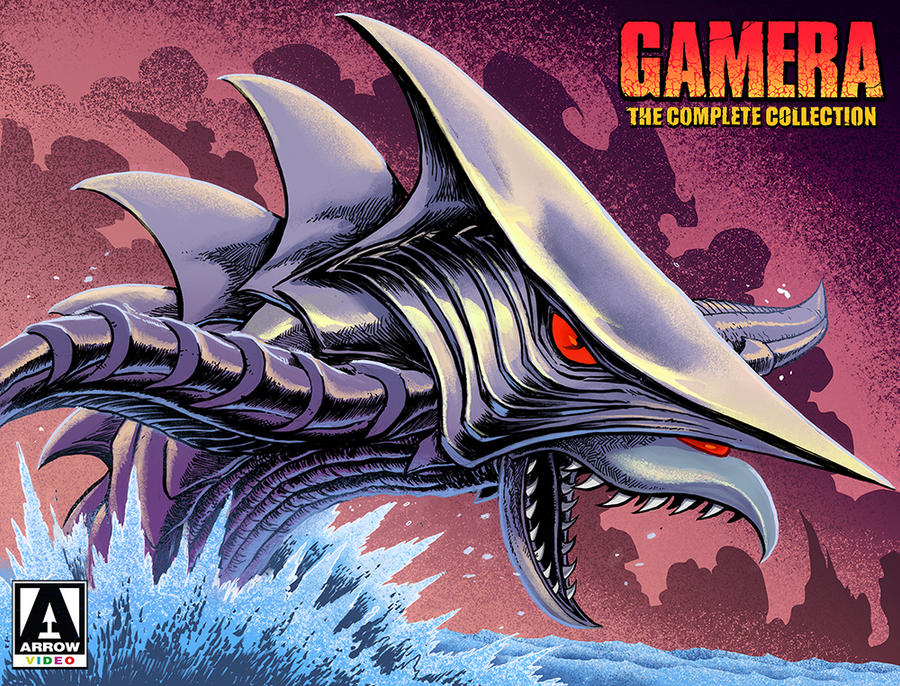 Gamera Complete Collection - ZIGRA