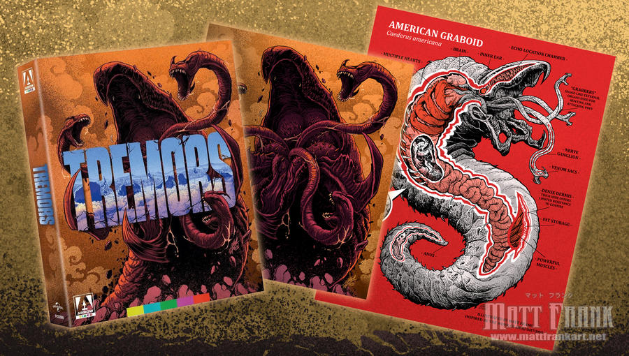TREMORS from Arrow Video