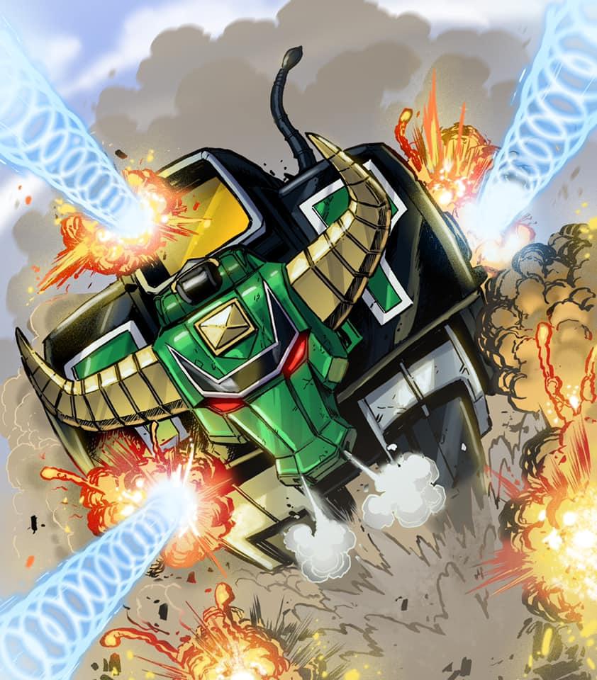 Heroes of the Grid - Zeo Zord 4