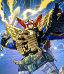 Heroes of the Grid - Zeo Megazord