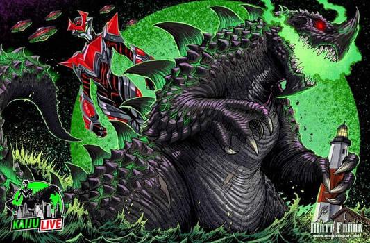 Kaiju Live - Evil Ujiak