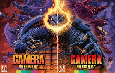 GAMERA Arrow Blu Ray  - Standard Edition Covers