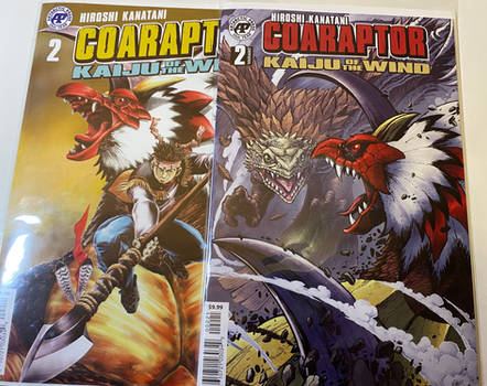 COARAPTOR: Kaiju of the Wind issue 2