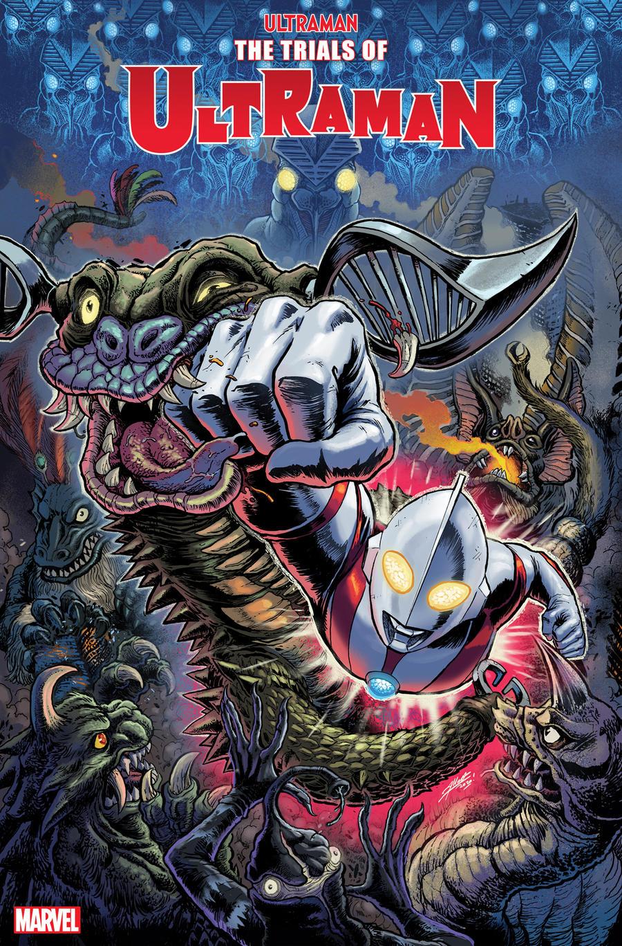 TRIALS OF ULTRAMAN Cover #1 Marvel