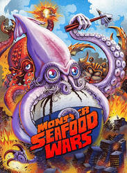 MONSTER SEAFOOD WARS Blu Ray Cover