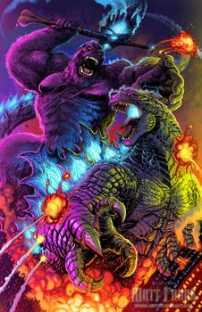 Godzilla vs Kong - WHO BOWS TO WHOM