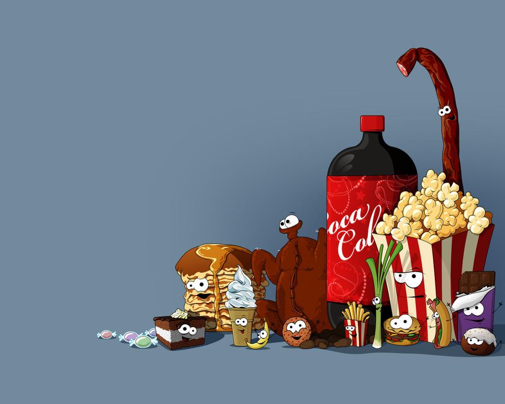 Food wallpaper by raffau