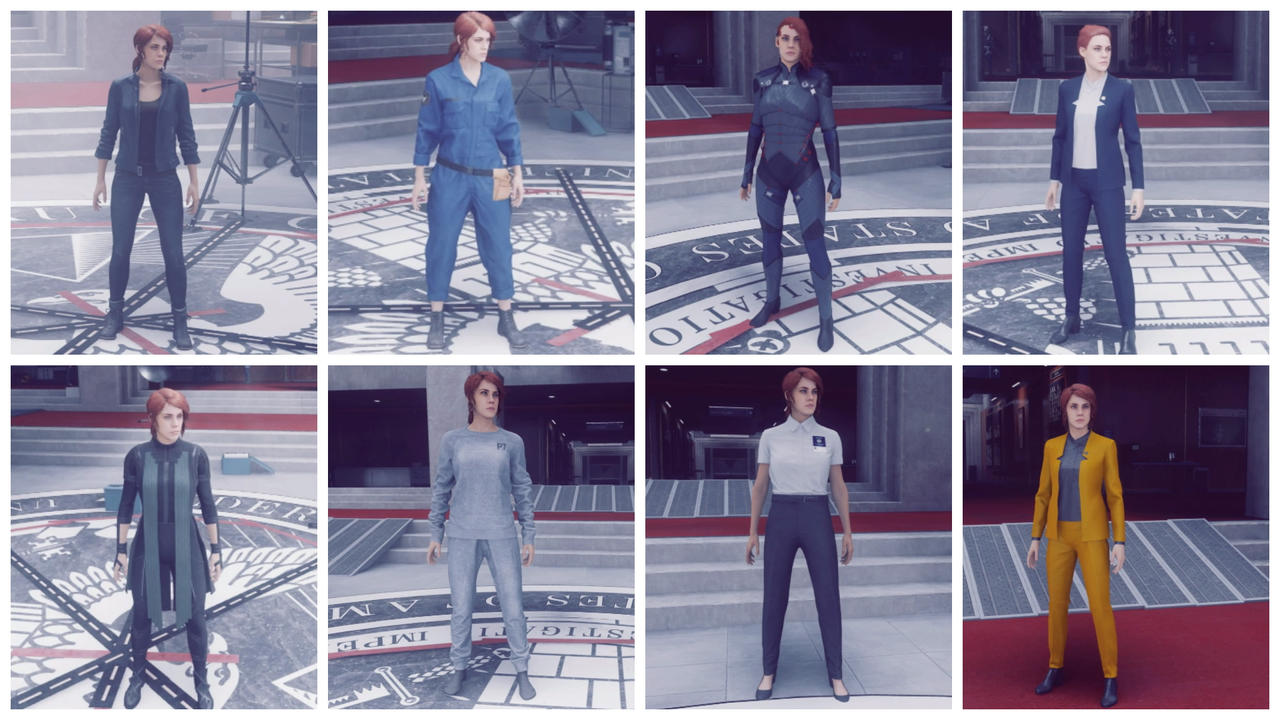 Jesse Faden Outfits From Control By Theguytoknow87 On Deviantart Control ultimate edition outfits unlock. jesse faden outfits from control by