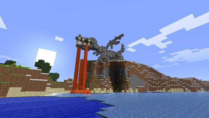 Minecraft - Dragon Statue by lameazoid on DeviantArt