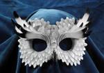 Snowy owl familiar masquerade mask