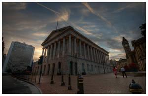 Birmingham Town Hall in HDR by dynopunk