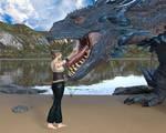 Dragon on the beach 2 2/4