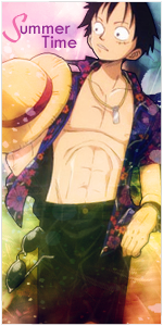 Luffy Summer Time v2 by Freeze1992