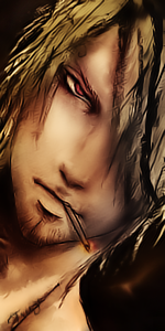 Sanji Avatar Collab with xmb by Freeze1992