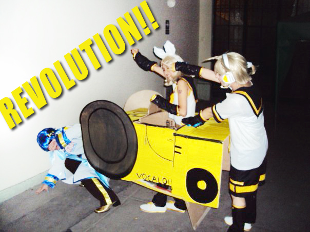VOCALOID - Revolutionary Twins by cosplayluvx3