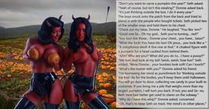 Pumpkin Thieves - Halloween TG Caption