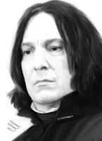 Severu Snape Painting by perlaque