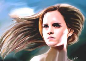 Emma Watson sketch by perlaque