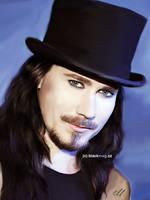 Tuomas Holopainen sketch by perlaque