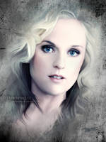 liv kristine painting by perlaque