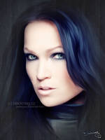 tarja turunen painting by perlaque