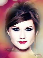 Bonnie Wright painting by perlaque