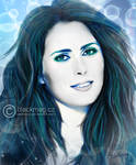 Sharon den Adel painting