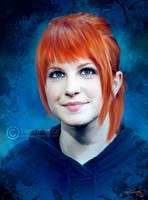 hayley williams painting by perlaque
