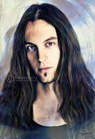 Mark Jansen Painting by perlaque